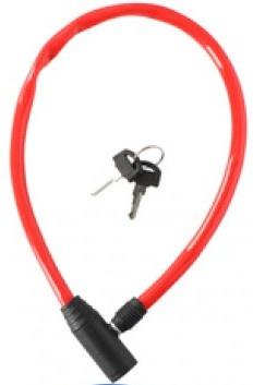 Dunlop kabelslot 650 x 4 mm rood