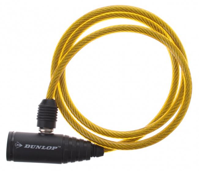 Dunlop spiraalslot 900 x 6 mm geel