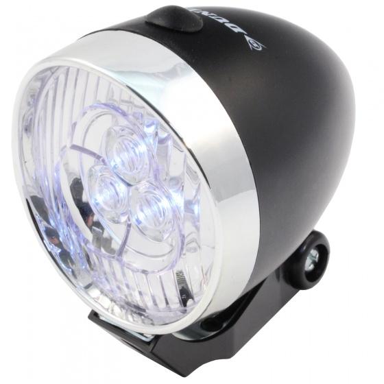 Dunlop Voorlicht LED retro zwart