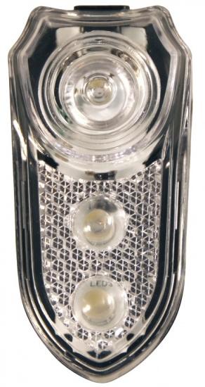 Duracell Fietslamp 3LED Inclusief batterijen zwart