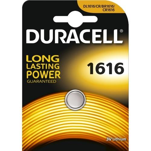 Duracell batterij DL 1616/ CR1616 3V Lithium