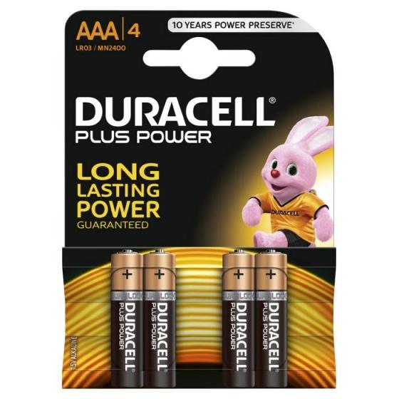 Duracell batterijen AAA DuraLock 1.5V 4 stuks