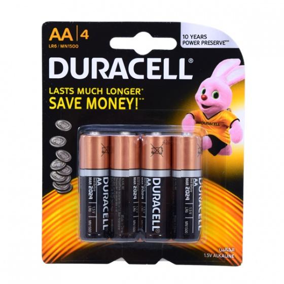 Duracell batterijen LR06 AA 4 stuks