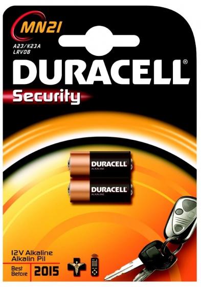 Duracell batterijen MN21 12V zwart/bruin 2 stuks