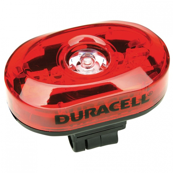 Duracell led achterlicht rood 7 x 5 x 3 cm