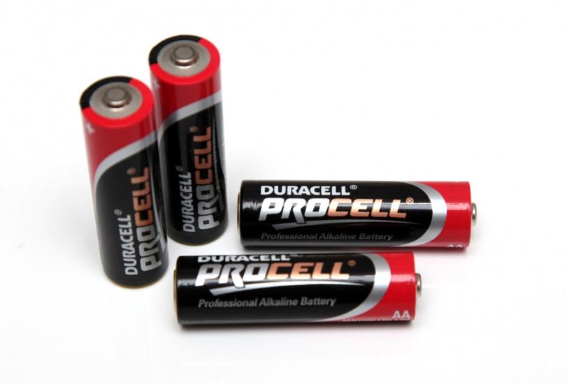 Duracell batterijen Procell AA 4 stuks