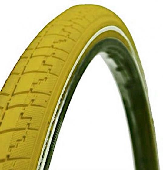 Dutch Perfect Buitenband Reflex 28 x 1 5/8 x 1 1/2 (40 622) geel