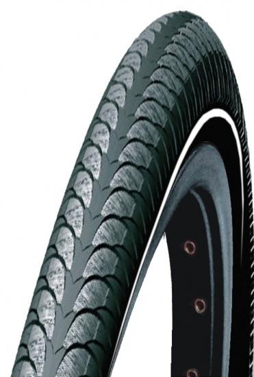 Dutch Perfect buitenband Reflex E Tiger 28 x 1 5/8 x 1 3/8 (37 622) zwart