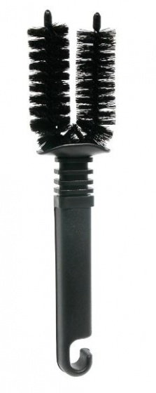 Dyto reinigingsborstel frame & spaken 24 cm zwart