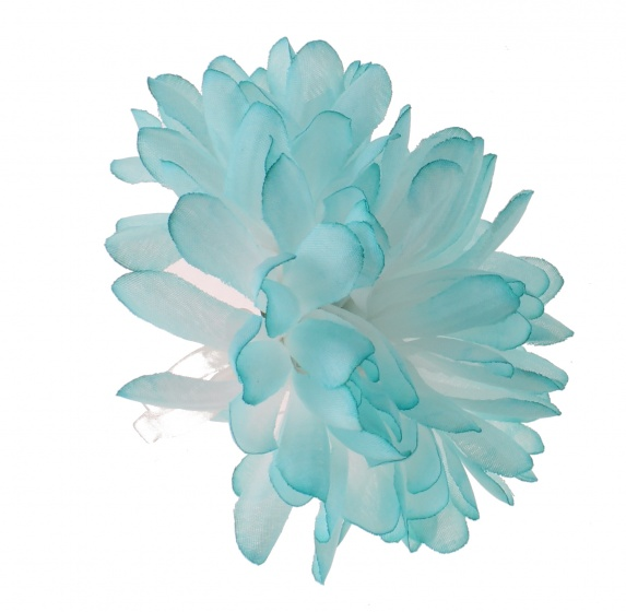Dyto stuurbloem 10 cm meisjes blauw