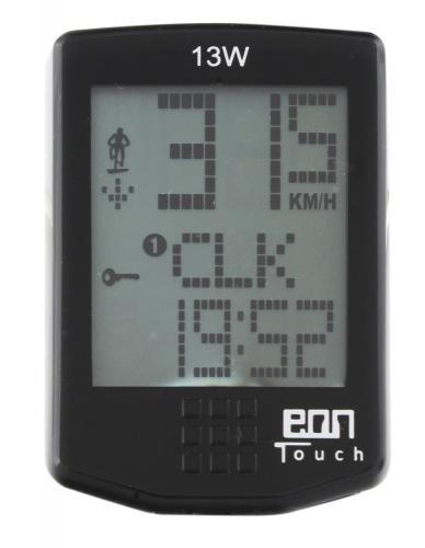 Echowell Fietscomputer EON Touch 13W Draadloos 13 Functies