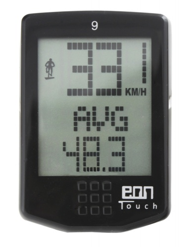 Echowell Fietscomputer EON Touch 9 Functies