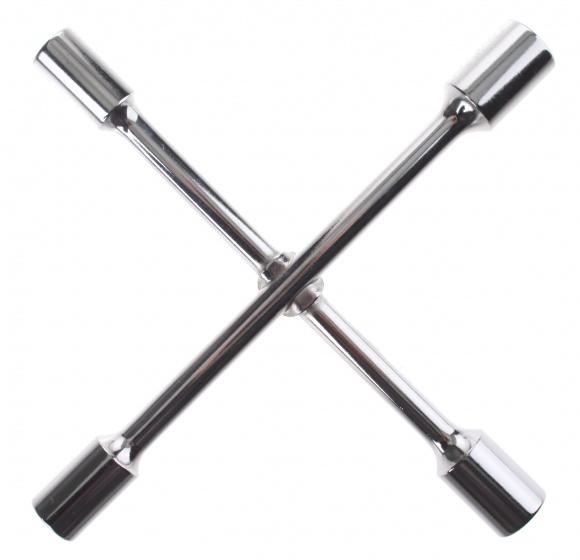 Eldi dopsleutel kruis 16 19 mm zilver
