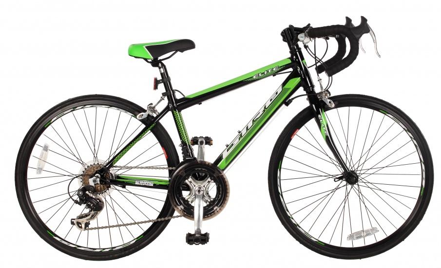 Elite Giro 24 Inch 35 cm Jongens 14V V Brake Zwart