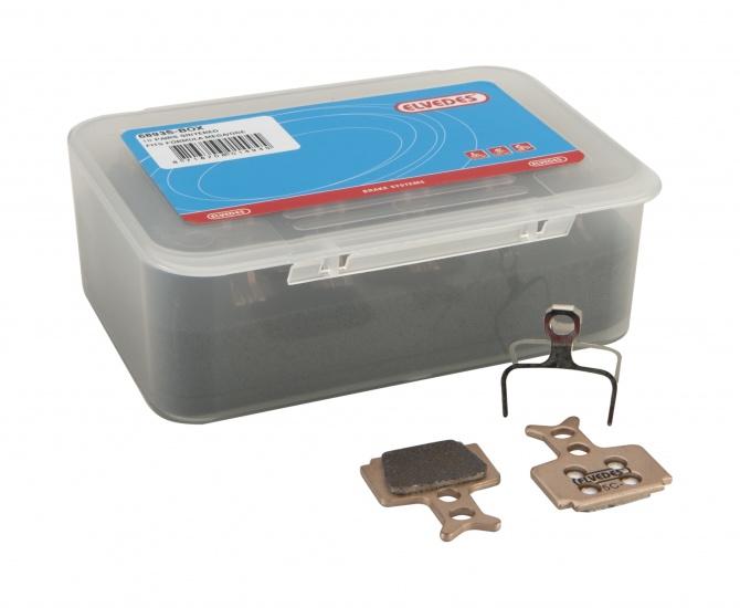 Elvedes 6893S Box Met 10 Paar Gesinterde Schijfremblokken