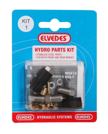 Elvedes Hydro Parts Kit 1 voor hydraulische remslang 2011012