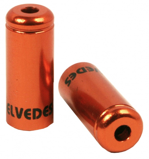 Elvedes kabelhoedjes 5 mm oranje 50 stuks