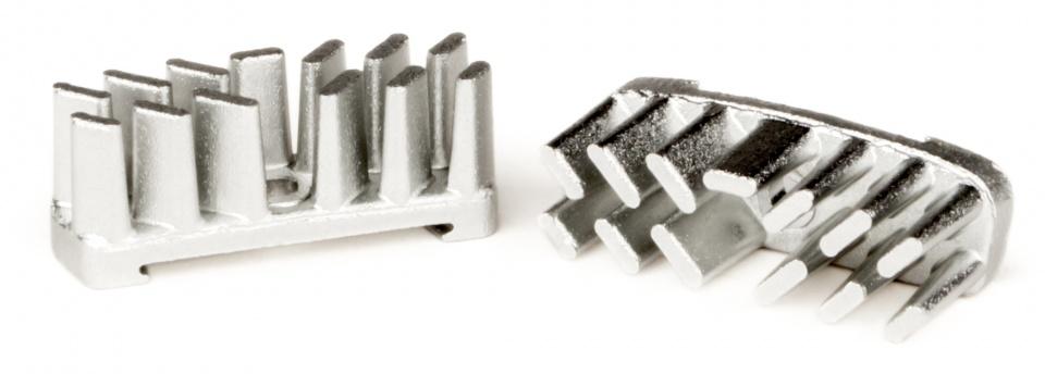 Elvedes koelvinnen Aerostream 6800CF3 aluminium zilver 2 stuks
