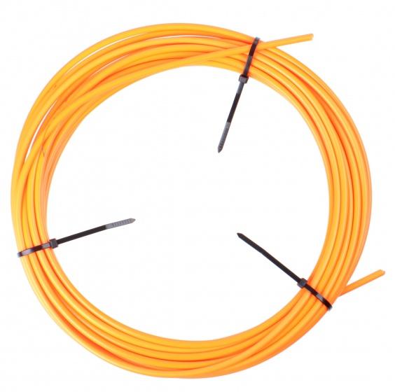 Elvedes rem buitenkabel 1125 neon oranje 5 mm 10 meter op rol