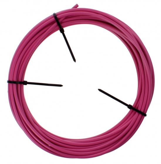 Elvedes rem buitenkabel 1125 roze 5 mm 10 meter op rol for Buitenkabel