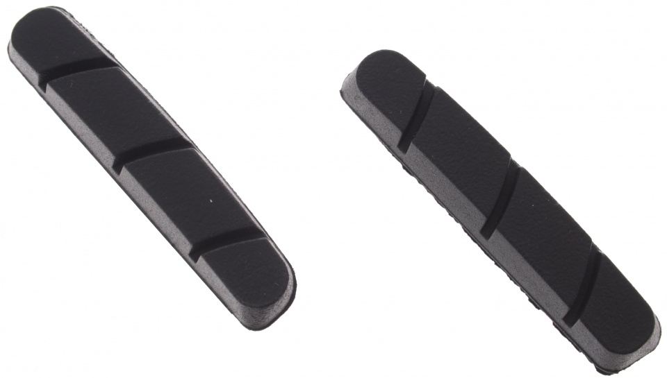Elvedes remblokrubbers V brake 55 x 12 mm zwart 50 stuks