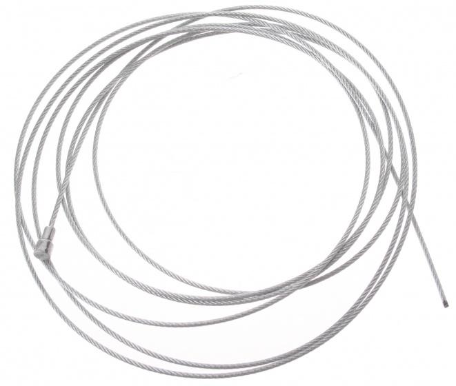 Elvedes Remkabel binnen 6411 49 universeel 2000 x 1,5 mm zilver