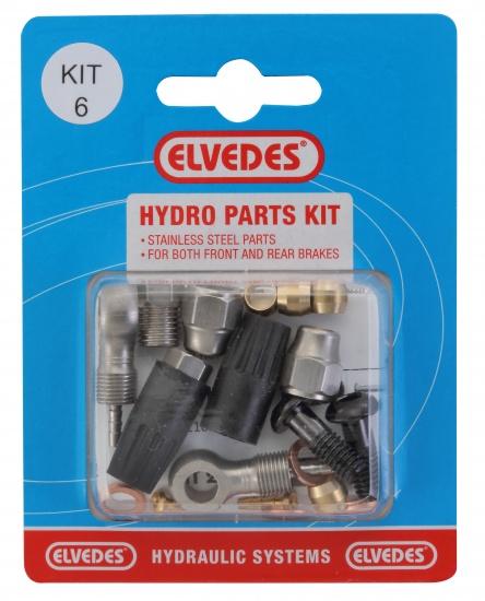 Elvedes schijfrem Hydro Parts Kit 6