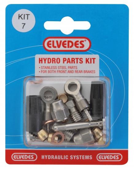 Elvedes schijfrem Hydro Parts Kit 7