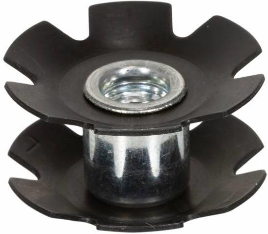 Korting Elvedes Standard Steel Star Nut 1â Inch Metal Tube