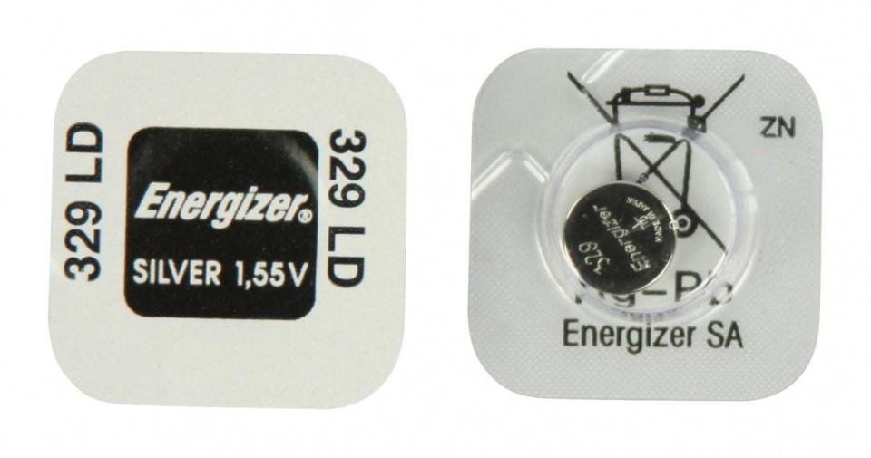 Energizer batterij knoopcel 329 SR731 1 stuk