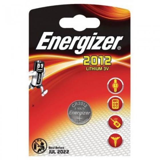 Energizer batterij knoopcel Lithium 3V CR2012 per stuk