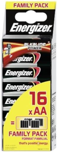 Energizer batterijen Power LR6 AA 16 stuks
