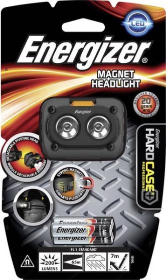 Energizer hoofdlamp Magnet Headlight 6,5 cm grijs