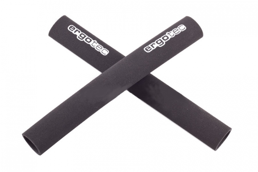 Ergotec Foam Grip Bar END 200 mm Zwart Per 2 Stuks
