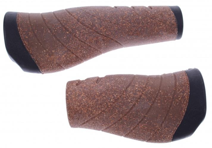 Ergotec Handvat Faro ACS 07/1 135 / 92 mm Kurk Bruin Zwart