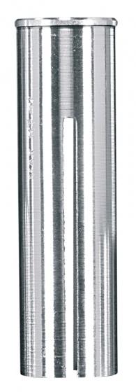 Ergotec Opvulbus voor stuurpen 25,4 28,6 / 38 mm zilver