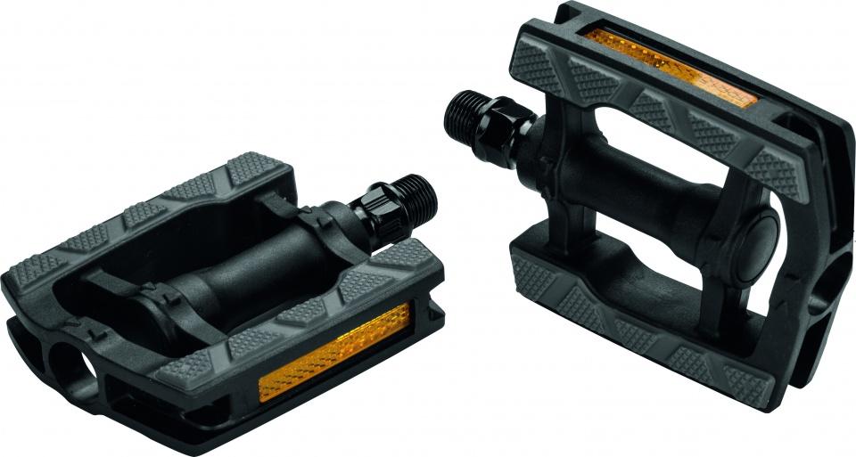 Ergotec platformpedalen (857) 9/16 inch anti slip zwart