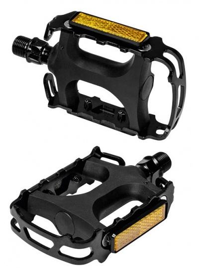 Ergotec platformpedalen (993) 9/16 inch zwart