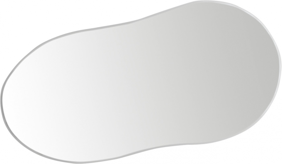 Ergotec reservespiegel voor M 88 glas 111 x 52 mm