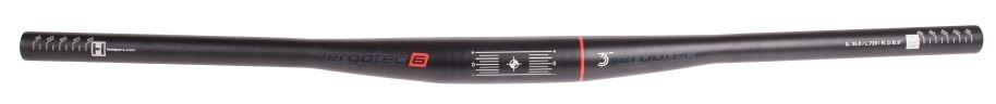 Ergotec Stuur ATB/MTB Ray 22.2/ 790 / 35 mm Zwart