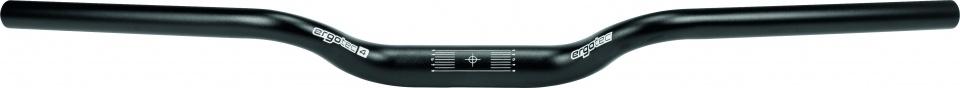 Ergotec stuur M Bar 22,2/700/31,8 mm aluminium zwart L