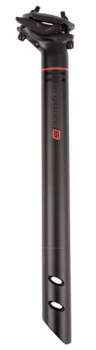 Ergotec Zadelpen vast Ray 31.6 X 350 mm aluminium zwart