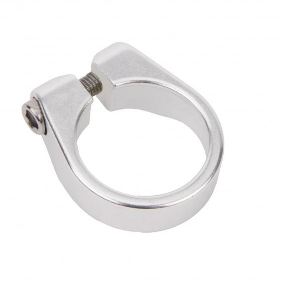 Ergotec zadelpenklem SCI 085 31.8 mm zilver