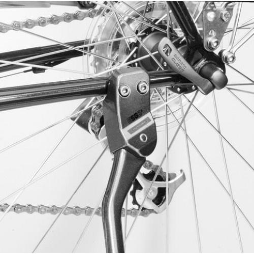 Esge standaard e bike 28/29 inch 35 cm aluminium zilver