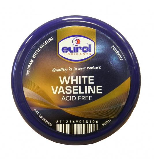 Eurol Witte Vaseline E901200 Zuurvrij 100 gram