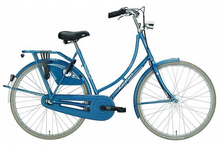 Excelsior Luxus 28 Inch 50 cm Dames 3V Terugtraprem Blauw