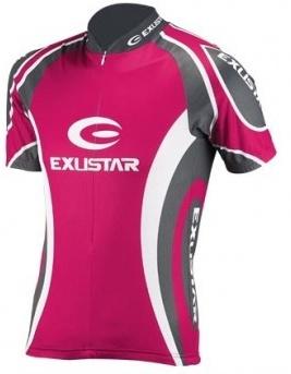 Exustar Fietsshirt E CJ21 korte mouwen dames roze maat S
