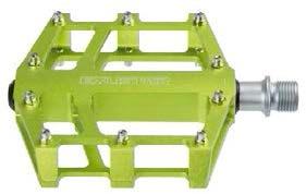 Exustar Platformpedaal BMX / Enduro 9/16 Inch groen per set