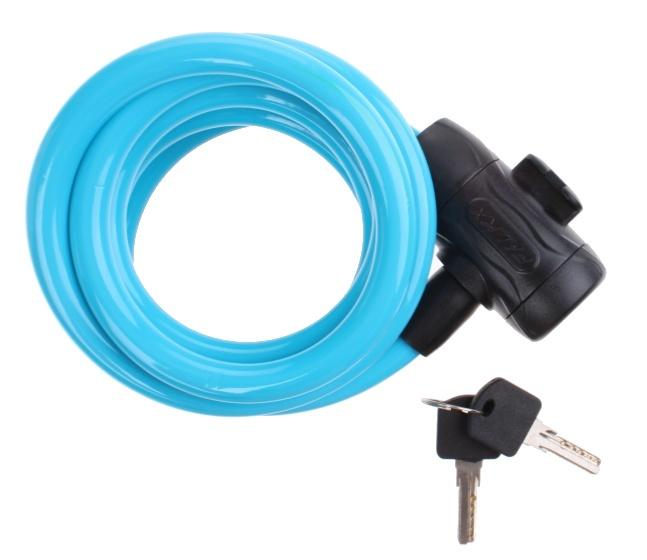 Falkx kabelslot 12 x 1800 mm blauw