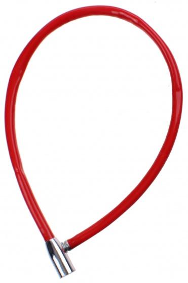 Falkx kabelslot 12 x 650 mm staal/kunststof rood